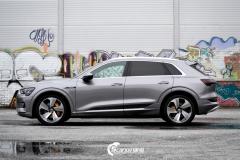 Audi e-tron Helfoliert i lakkbeskyttelsesfilm fra STEK-5