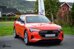 Audi e-tron helfoliert med lakkbeskyttelsesfilm fra STEK (1 из 12)