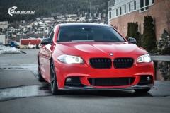 BMW Helfoliert i Gloss Hotrod Red fra 3M-2