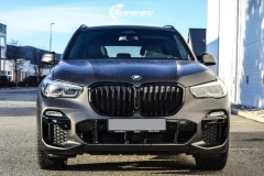 BMW X5 Helfoliert i Matt Diamond Black fra PFW-2
