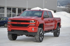 Chevrolet red foliering
