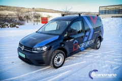 Dekorert Volkswagen Caddy for Noreiendom--3