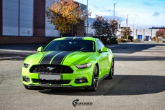 Ford Mustang helfoliert i Gloss Light Green fra 3M (9 из 12)