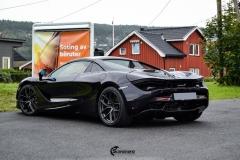 McLaren helfoliert med lakkbeskyttelsesfilm fra STEK-1