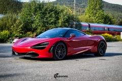McLaren helfoliert med lakkbeskyttelsesfilm fra STEK-8