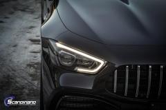 Mercedes-AMG GT foliert med lakkbeskyttelsesfilm
