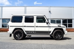 Mercedes-Benz G-Klasse decor black stripe-2
