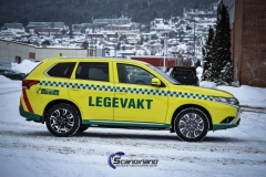 Mitsubishi legevakt foliert yellow scandinano_-2