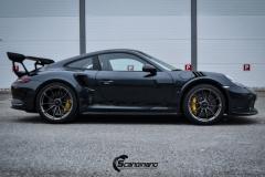 Porsche 911 GT3 RS helfoliert i lakkbeskyttelsesfilm fra STEK-3
