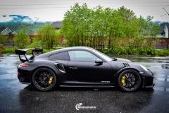 Porsche GT2 RS helfoliert med lakkbeskyttelsesfilm fra STEK (1 из 7)