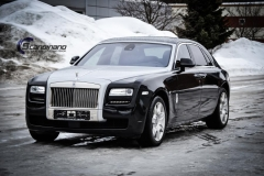 rolls royce ghost foliert black  Scandinano_