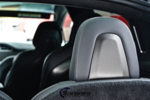 Styling av seter i bil