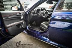 Alfa Romeo Giulia helfoliert med lakkbeskyttelsesfilm fra STEK-12