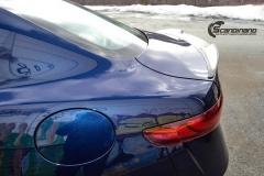 Alfa Romeo Giulia helfoliert med lakkbeskyttelsesfilm fra STEK-13