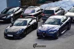 Alfa Romeo Giulia helfoliert med lakkbeskyttelsesfilm fra STEK