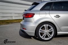 Audi-A3-S-Line-Helfoliert-i-Gloss-White-Aluminum-fra-3M-8-из-12