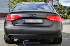 Audi A4 foliert i matt black diamand by pwf-3
