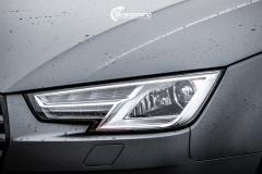 Audi A4 helfoliert i 970 Charcoal Metallic Matt fra Oracal-10