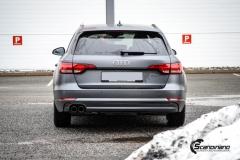 Audi A4 helfoliert i 970 Charcoal Metallic Matt fra Oracal-6