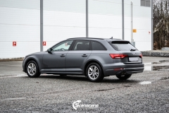 Audi A4 helfoliert i 970 Charcoal Metallic Matt fra Oracal-8