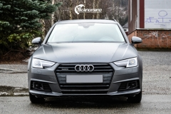Audi A4 helfoliert i 970 Charcoal Metallic Matt fra Oracal