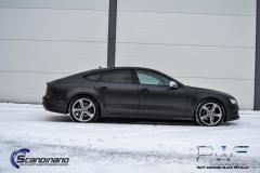 Audi A7 solfilm-20% Solfilm