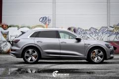 Audi e-tron Helfoliert i lakkbeskyttelsesfilm fra STEK-13