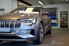 Audi e-tron Helfoliert i lakkbeskyttelsesfilm fra STEK-2