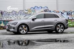 Audi e-tron Helfoliert i lakkbeskyttelsesfilm fra STEK-6