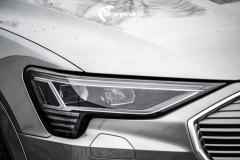 Audi e-tron Helfoliert i lakkbeskyttelsesfilm fra STEK-8