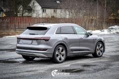 Audi e-tron Helfoliert i lakkbeskyttelsesfilm fra STEK-9