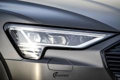 Audi e-tron helfoliert i Matt Diamond Black fra PWF-11