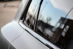 Audi e-tron helfoliert i Matt Diamond Black fra PWF-13