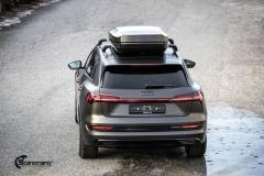 Audi e-tron helfoliert i Matt Diamond Black fra PWF-14