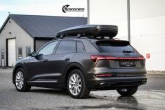 Audi e-tron helfoliert i Matt Diamond Black fra PWF-15