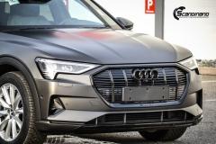 Audi e-tron helfoliert i Matt Diamond Black fra PWF-2