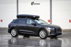 Audi e-tron helfoliert i Matt Diamond Black fra PWF-3