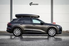 Audi e-tron helfoliert i Matt Diamond Black fra PWF-4