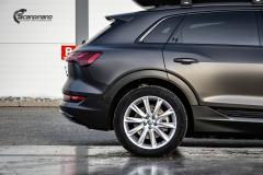 Audi e-tron helfoliert i Matt Diamond Black fra PWF-5