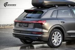 Audi e-tron helfoliert i Matt Diamond Black fra PWF-6
