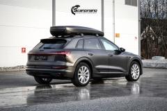 Audi e-tron helfoliert i Matt Diamond Black fra PWF-7