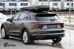 Audi e-tron helfoliert i Matt Diamond Black fra PWF-8