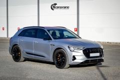 Audi e-tron helfoliert i MATT lakkbeskyttelsesfilm fra STEK-0133