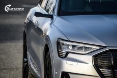 Audi e-tron helfoliert i MATT lakkbeskyttelsesfilm fra STEK-0136