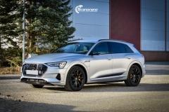 Audi e-tron helfoliert i MATT lakkbeskyttelsesfilm fra STEK-0142