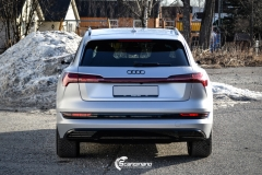 Audi e-tron helfoliert i MATT lakkbeskyttelsesfilm fra STEK-0151