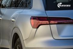 Audi e-tron helfoliert i MATT lakkbeskyttelsesfilm fra STEK-0154