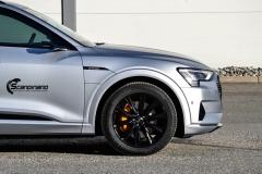 Audi e-tron helfoliert i MATT lakkbeskyttelsesfilm fra STEK-0160