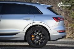Audi e-tron helfoliert i MATT lakkbeskyttelsesfilm fra STEK-0161