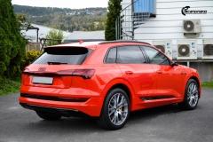 Audi e-tron helfoliert med lakkbeskyttelsesfilm fra STEK (8 из 12)